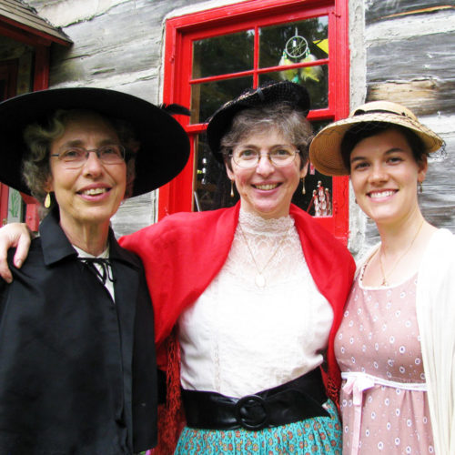 Caroll Ann Gieske, Mary Speicher, and Martha Reilander
