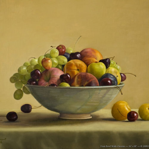 Surprenant-Fruit_Bowl_with_Cherries