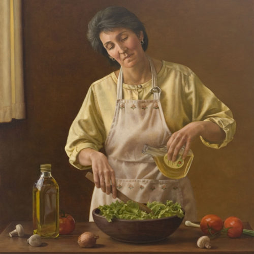 """Surprenant-Preparation // Third Place Award International Portrait Arts Festival, """"The Miracle of the Portrait"""" Portrait Society of Canada (Toronto ON), 2006"""