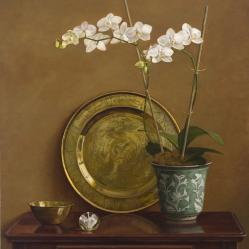 Surprenant-White_Orchid_and_Paperweight