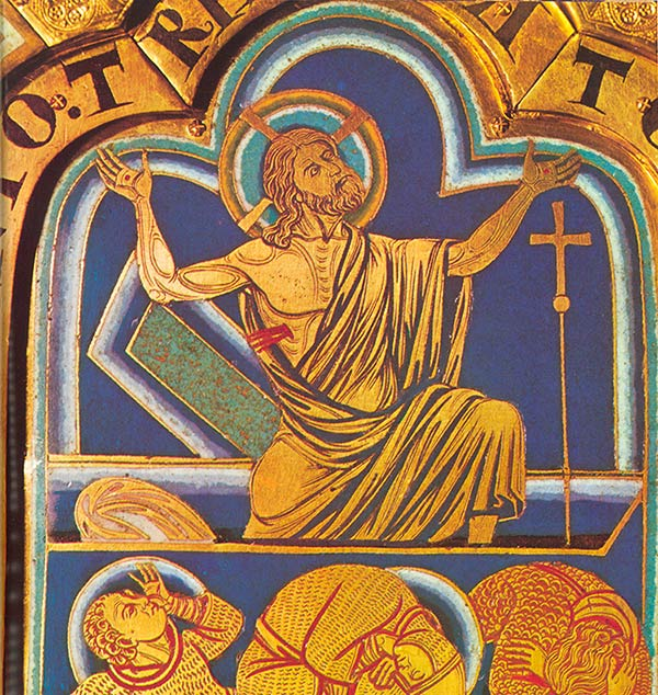 enamel of the resurrection by Nicholas of Verdun