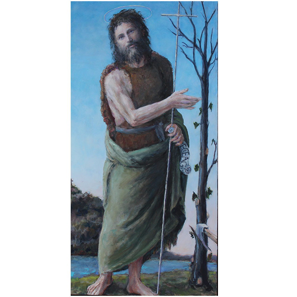painting of St. John the Baptist by Patrick Stewart